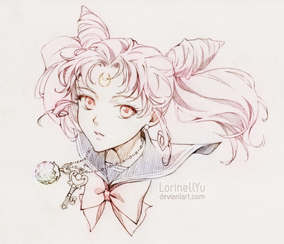 Chibiusa - Sailor Chibi Moon by LorinellYu