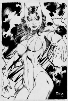 Scarlet Witch by Fred Benes by JPMayer