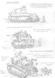Sketches- Assorted Imperial vehicles by PenUser