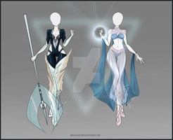 (CLOSED) Adoptable Outfit Auction 53-54 by JawitReen