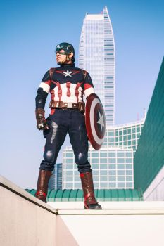 Star Spangled Man by FreelanceGeekdom