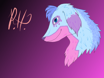 Pastel Pupper by shadowsilk