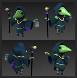 Plague Knight by Smearg