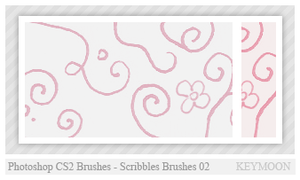 Scribbles Brushes 02 by KeyMoon