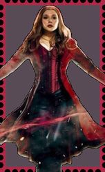 Scarlet Witch Stamp. by WOLFBLADE111