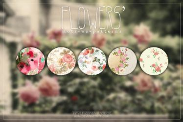 Flowers - Patterns by coral-m