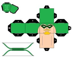 CubeeCraft Green Arrow Accesories by handita2006