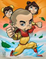 Legend of Korra - Meelo 3D by lordmesa