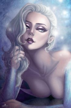 Queen Elsa by JELLYEMILY
