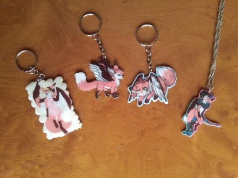 Takufoxy Charms by Vavercraft