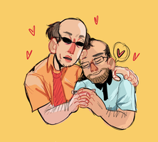 two lovely uncles by guzmatrash
