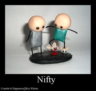Nifty - Cyanide and Happiness by MirielDesign
