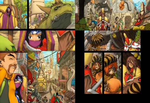 oO LC Pages 14-15 Oo by pacman23