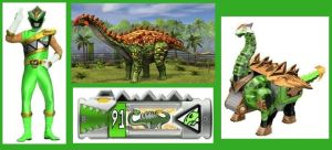Triassic Dino Charge Ranger by Greencosmos80
