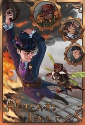 Steampunk Artemis Fowl by iesnoth