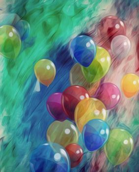 Balloons by HecateBast