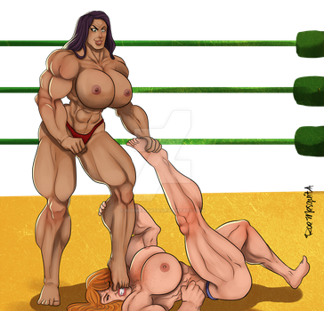 [C] Wrestling Match 06 by roemesquita