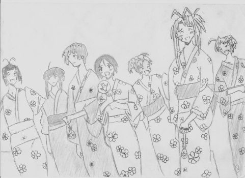 Love Hina by Negistalker