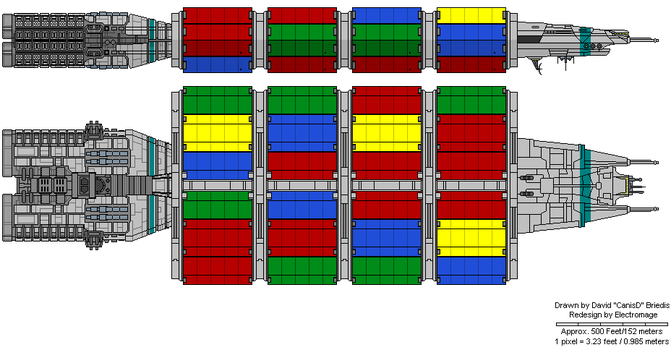 Brumby class Container Ship by The-Electromage