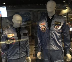 NASA Sally Ride and Guion Bluford Uniforms by rlkitterman
