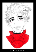 It's been a while, Mr. Vash by DEADWW