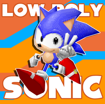 Low Poly Sonic by Hyperchaotix