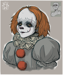 Expression Challenge - Sly Smirk Pennywise by Twime777