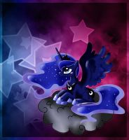 Luna on cloud. by CherryVioletS