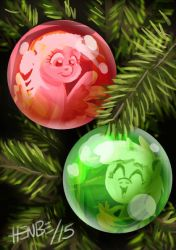 Seasons greetings from the hooves' family! by henbe