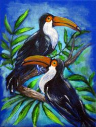 Toucans by Guericke