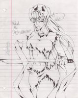 Nel Drawing by vinces