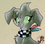 Hehku with new Collar by JB-Pawstep