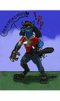 IMMA LUCARIO by V8Arwing67