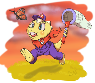 Butterfly Hunting by Trelock