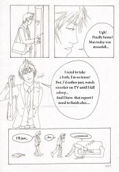 My Plumber's Smile Page 001. by SamurajDreamer