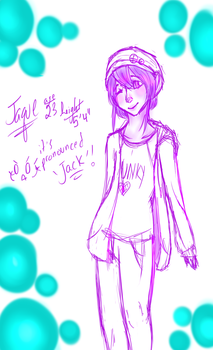 Jaque SKETCH by thematchgirl327