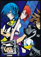 Kingdom Hearts by aLeDeris