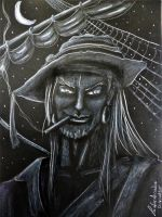 Pirate in the gloom by LuciferArcadia