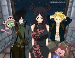 Fairy Tail 416 Minerva Sting and rogue Collab by JackalEteriasu