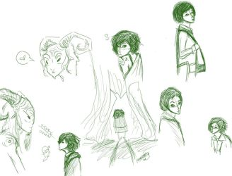 pan's labyrinth - sketches by xfumblesocks
