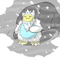 Alolan Snorlax by The-Insignia