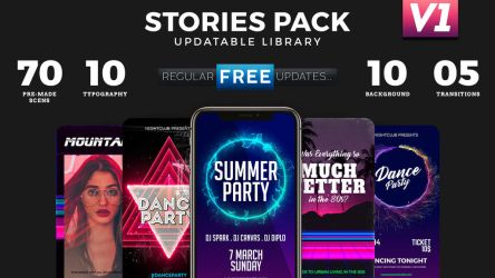 Instagram Stories Library V1.0 by PixelBrainCS