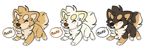 Bork Stickers by Flame-Expression