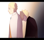 Boruto And Naruto fanart by xXYorinoYamaXx