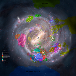 Milky Way At War map by GeneralHelghast