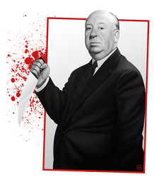 Alfred Hitchcock by TovMauzer