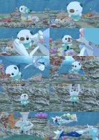 [MMD] (comic) (req) Oshawott gets ambushed! by Jasalad