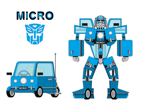 Micro the Peel P50 Autobot 2.0 by me by Micro-the-Autobot