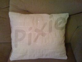 Mothers Day Cushion - Back by PixieRay