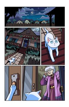 Hero Cats #13 page 3 COLOR by s-iRON